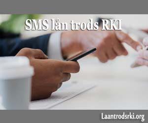 SMS LÅN TRODS RKI